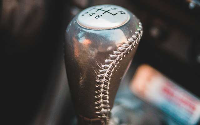 Typical Car Gearstick